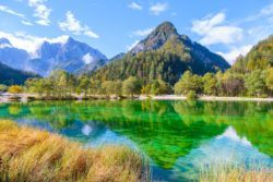 Lakes In Slovenia - Lake Jasna In Summer
