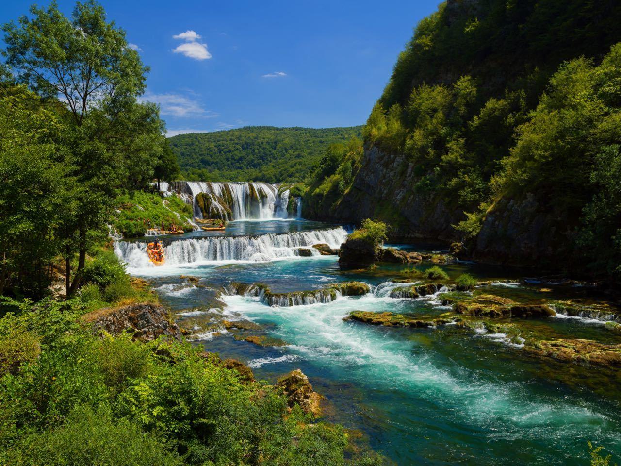 Backpacking The Balkans - Štrbački Buk Bosnia