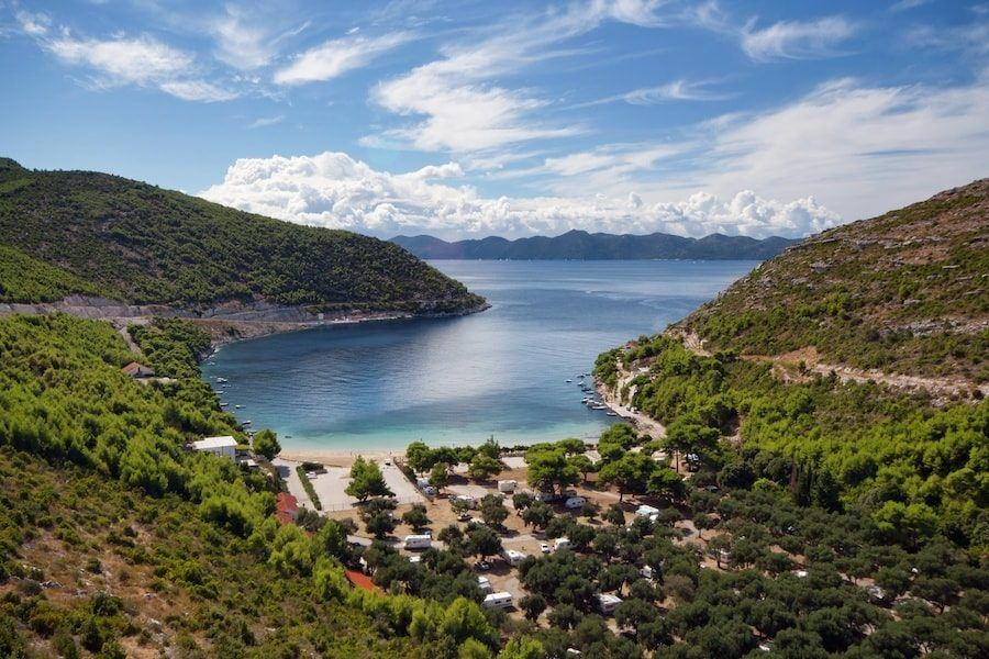 Croatia Travel Blog_Things to do in Croatia_Where to go Camping in Dubrovnik_Camping Prapratno