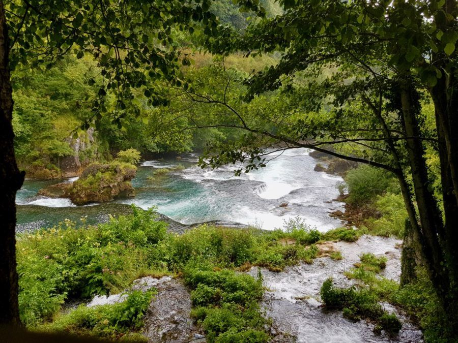 Strbacki Buk Waterfall Una National Park