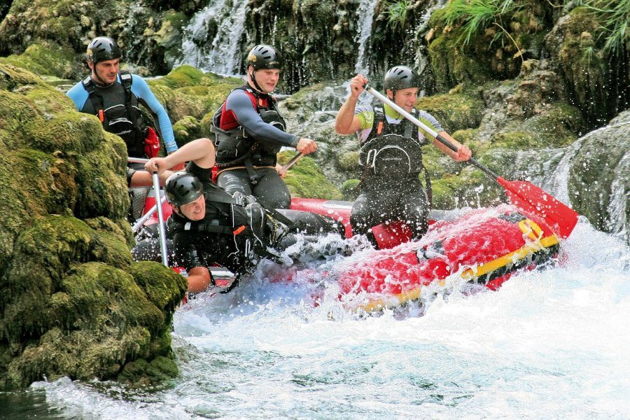Una River Rafting, Una National Park in Bosnia-Herzegovina