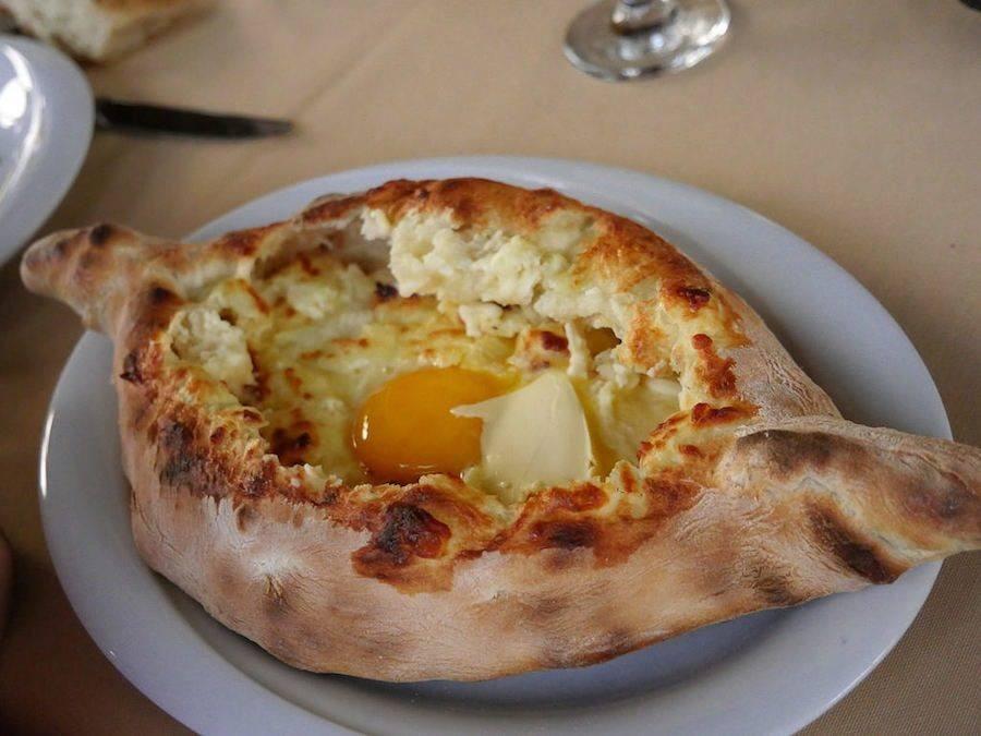 Georgia Travel Blog_Things to do in Batumi_Eat Adjaran Khachapuri