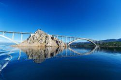 Facts About Croatia - Krk Island Bridg