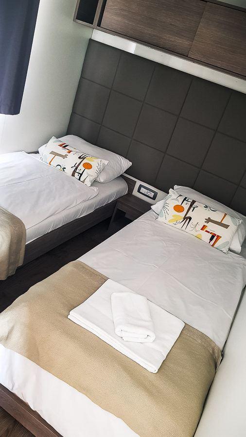 Krk Premium Camping Resort - Camping Resort Mobile Home Bedrooms