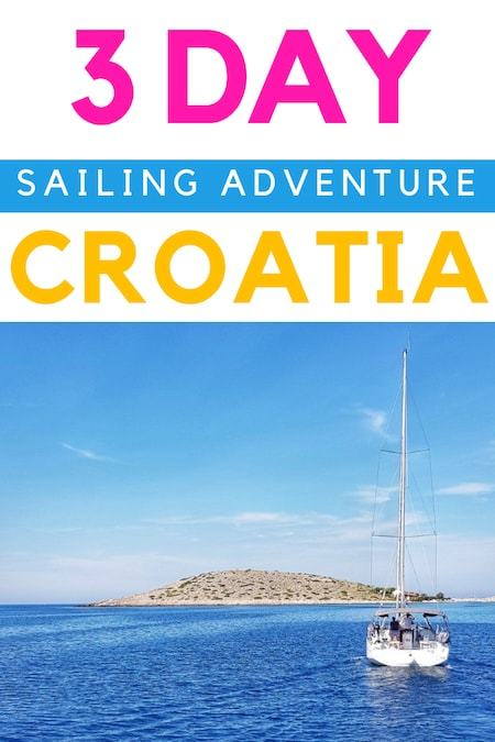 Croatia Travel Blog_Things to do in Croatia_3 Day Sailing Adventure in Croatia