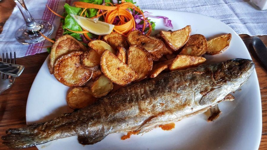 Food in Slavonia_Fried Fish