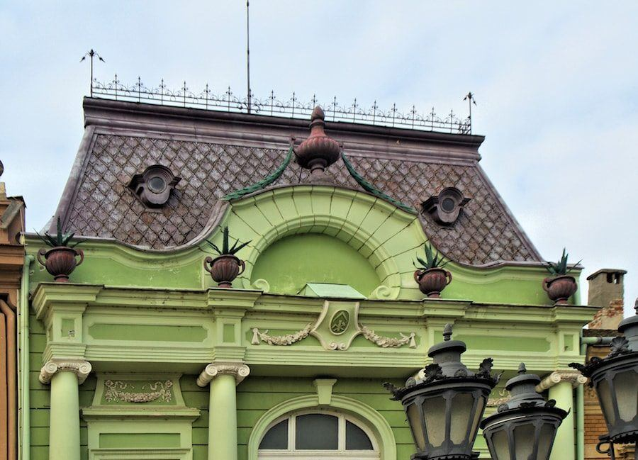Serbia Travel Blog_Things to do in Serbia_A Local's Guide to Novi Sad_Dunavska Street Facade
