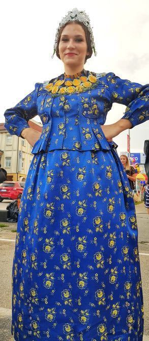Vinkovačke jeseniBlue Dress