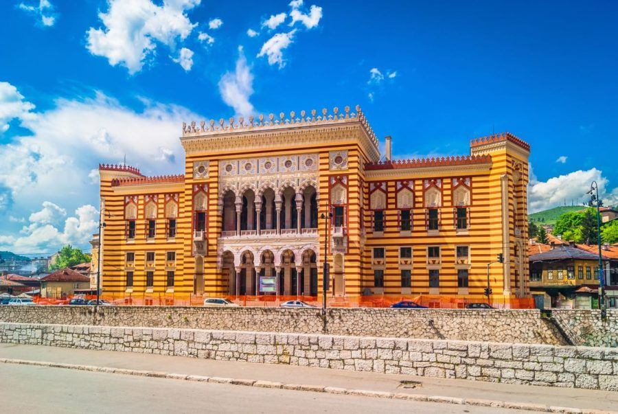 Sarajevo City Hall - Things to do in Sarajevo