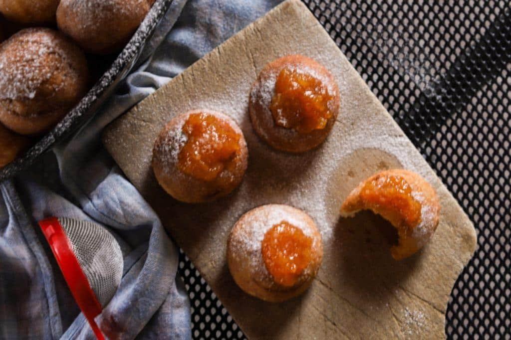 Croatian Cooking- Carnival Krafne Recipe Krofne Recipe 11