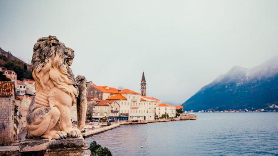 Things to do in Kotor Bay - Lion over looking Perast