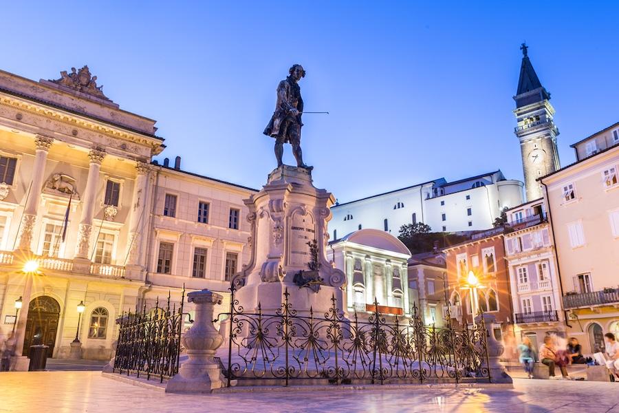 Things to do in PIran, Slovenia - Tartini Square
