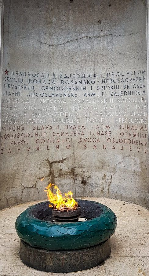 Things To Do In Sarajevo Eternal Flame Monument