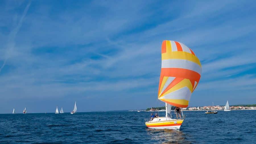 Zadar Regatta - Zadarska Koka - Orange Sail