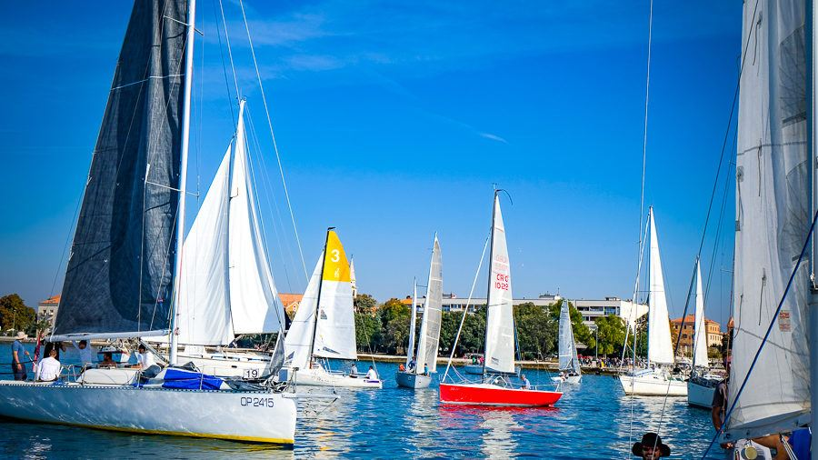 Zadarska Koka - Coloured sails