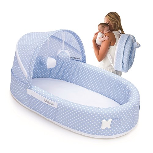 Portable Baby Crib Foldable Travel Bed