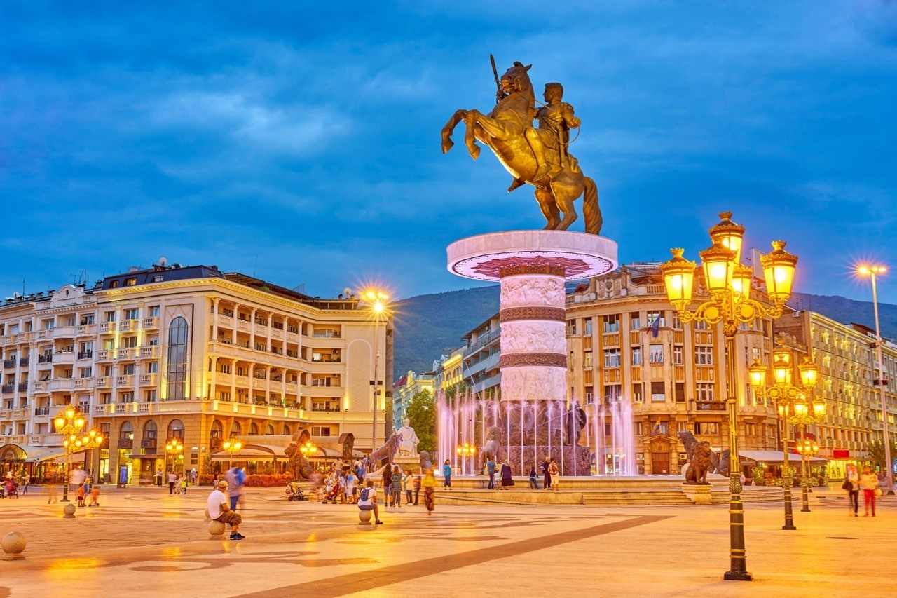 Visiting Macedonia Alexander the Great_Macedonia Square_Skopje_Macedonia