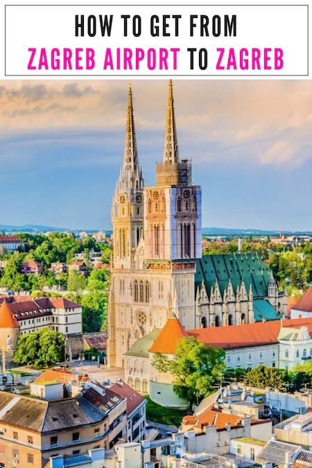 Croatia Travel Blog_Things to do in Croatia_How to get from Zagreb Airport to Zagreb City Center
