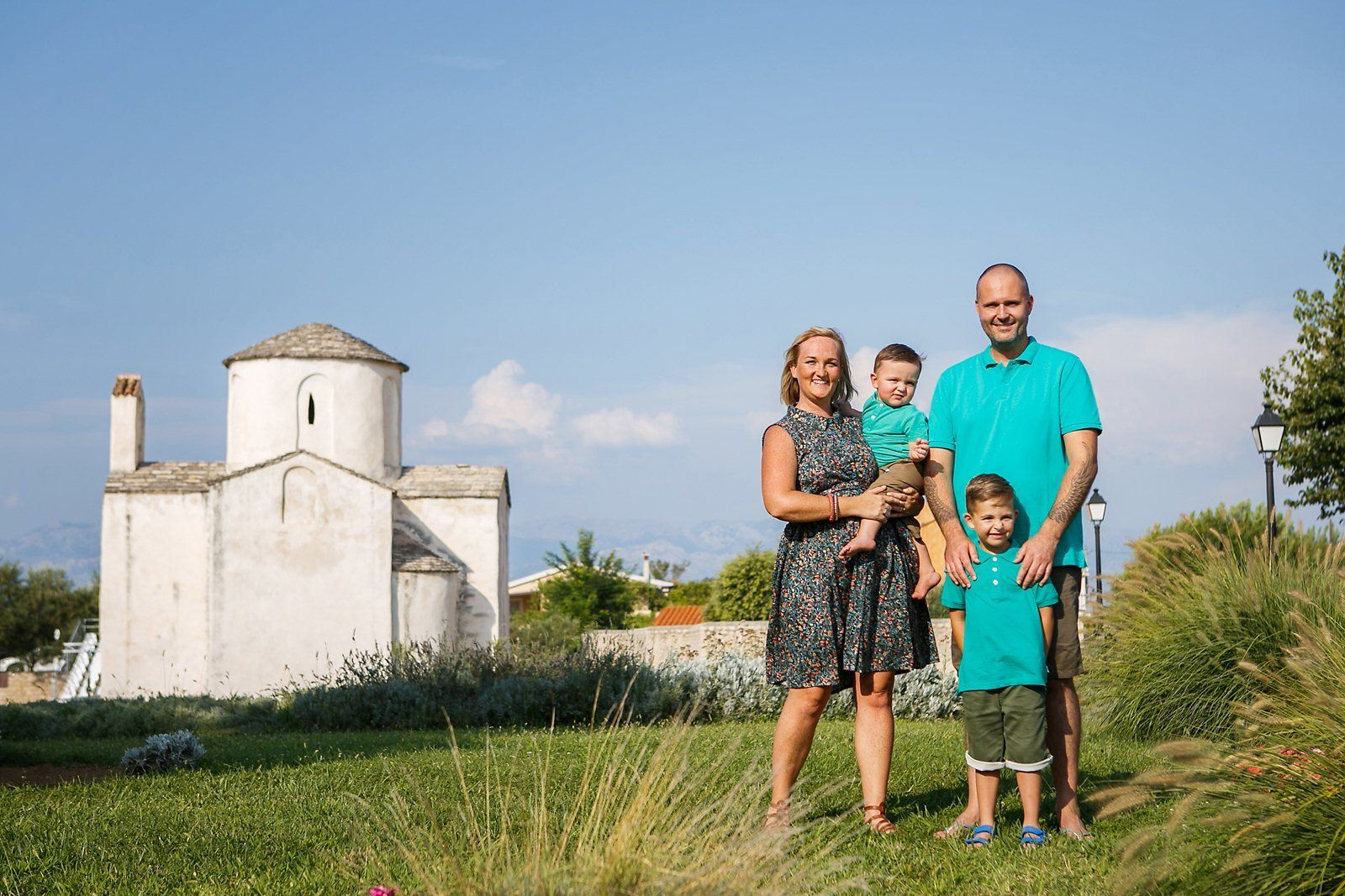 Family Photo Shot - Nin Croatia