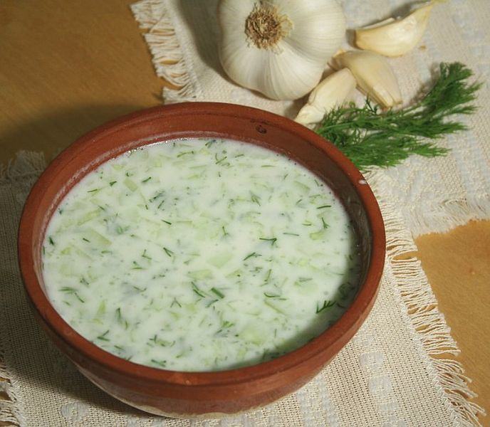 Albanian Food - Tarator