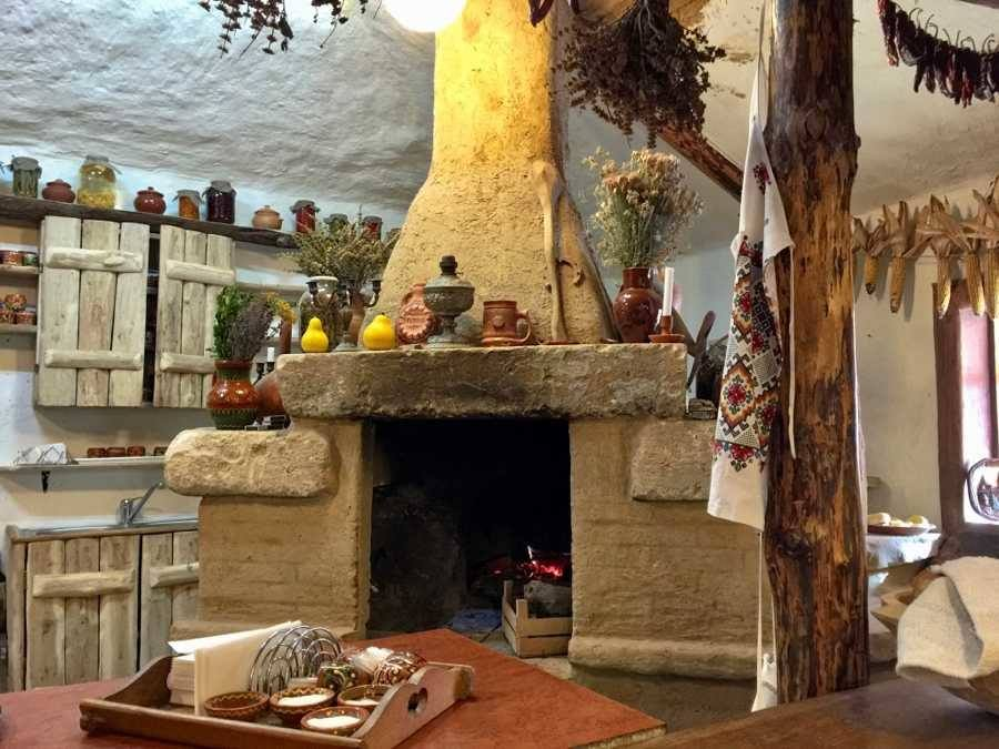 Traditional restaurant Eco-Resort Butuceni