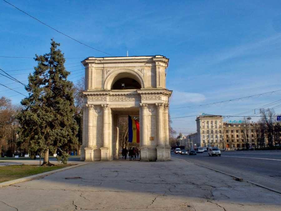 Top Things To Do In Chișinău, Moldova_Triumphal Arch