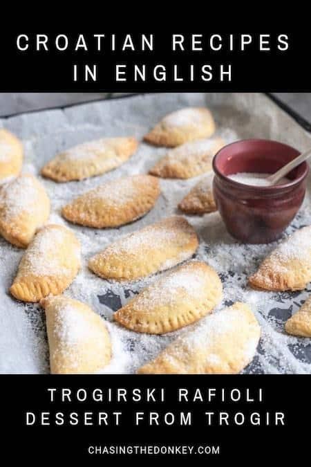 Croatian Cooking_Trogirski Rafioli Recipe_Dessert from Trogir