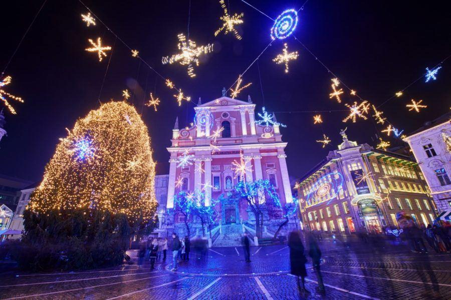 Winter in Slovenia - Ljubljana Advent