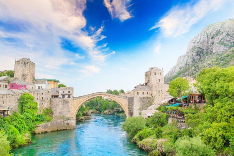 Backpacking The Balkans - Mostar