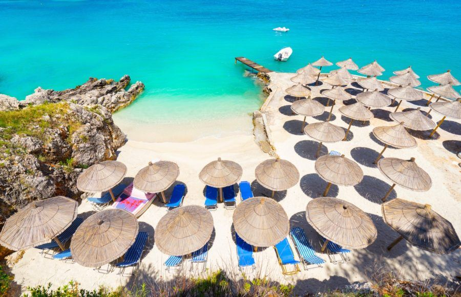 Things To Do In The Albanian Riviera - Ksamil Beach
