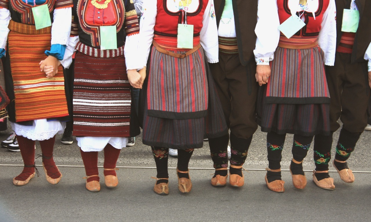 Folklore Group From Serbia
