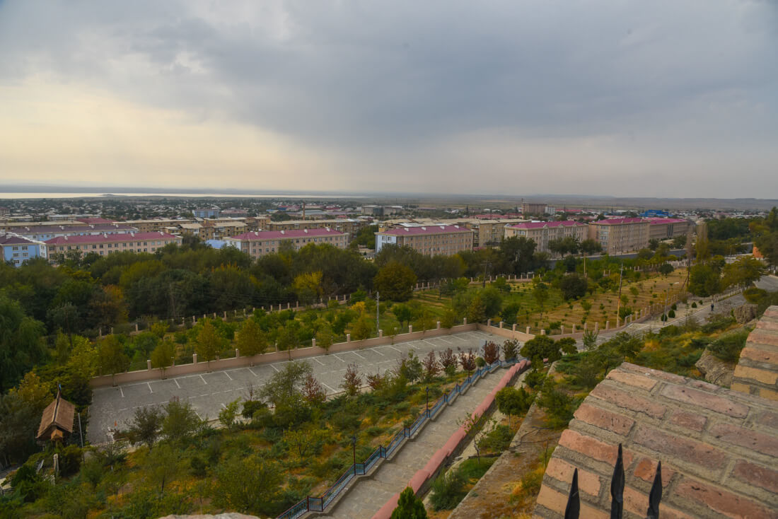 The Autonomous Republic Of Nakhchivan - nakhchivan city - views