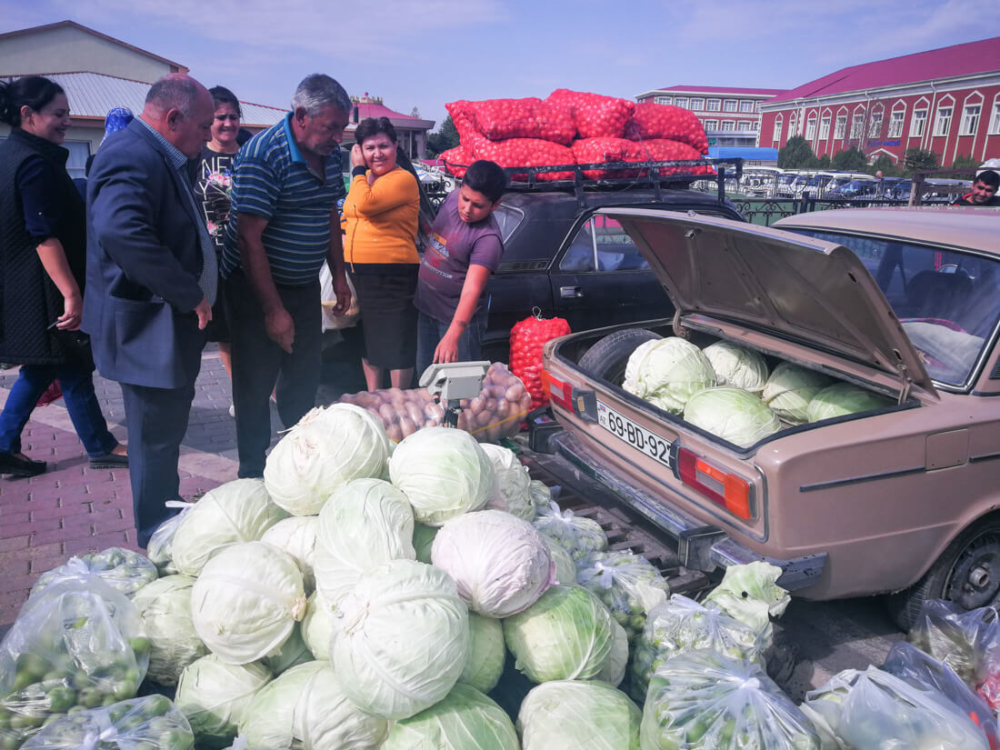 The Autonomous Republic Of Nakhchivan - saturday market