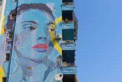 A weekend in tirana_mural_blloku_tirana