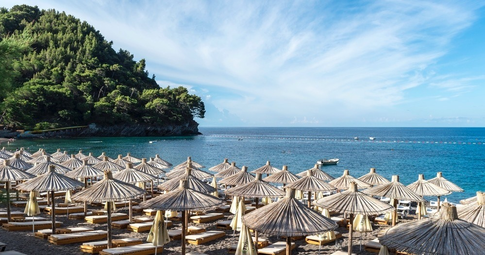 Best Beaches In Montenegro - Lucice Beach Petrovac