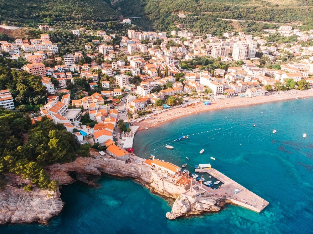 Best Beaches In Montenegro - Petrovac Bay