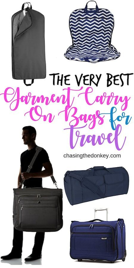 Travel Gear Travel Blog_Travel Gear Guides_Best Garment Carry On Bags
