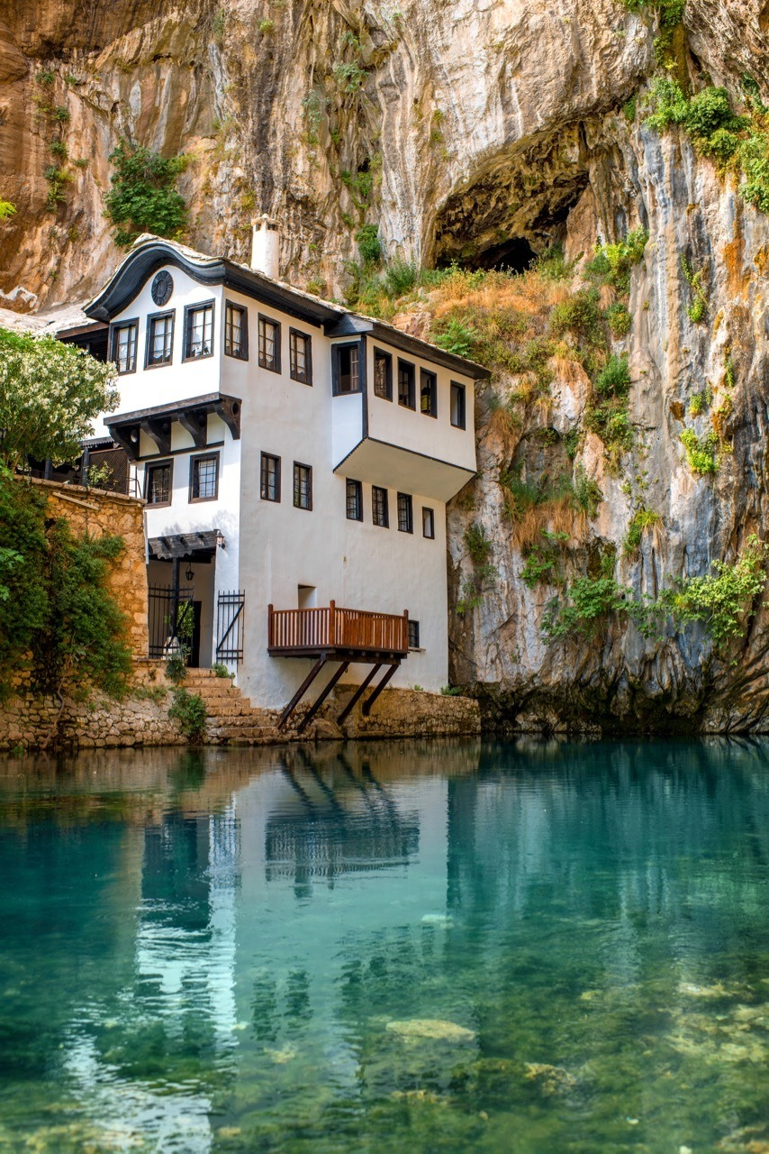 Beautiful house in Blagaj village on Buna spring