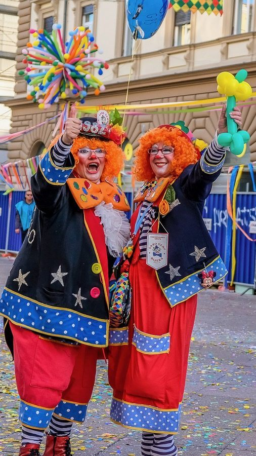 Clowns_Rijeka Carnival Parade