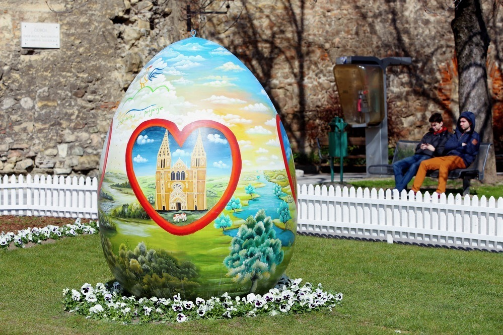 Painted Easter Eggs In Zagreb - Easter in Zagreb