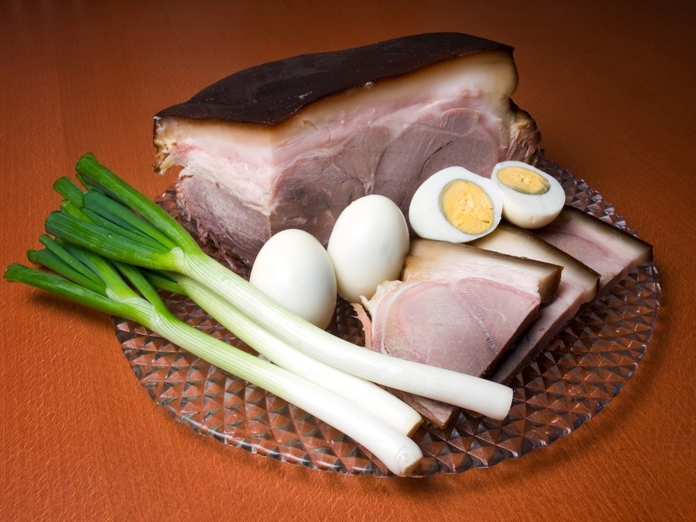 Easter Ham and eggs