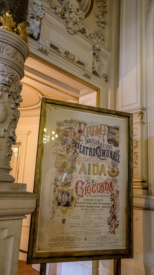 Ivan Zajc Croatian National Theatre Rijeka_Poster
