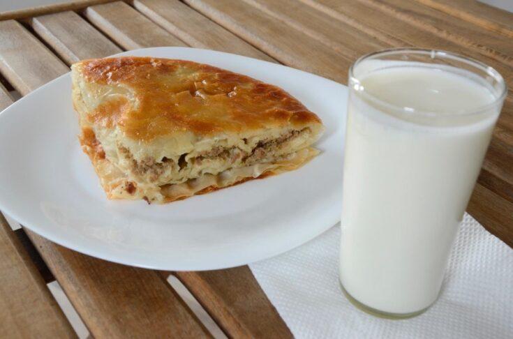 Macedonian traditional food in Macedonia_Burek