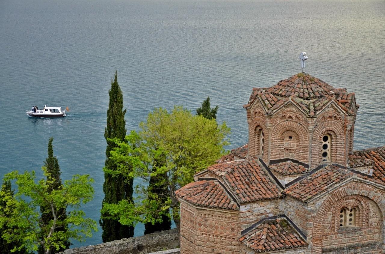 The Coast Of Ohrid, Church Kaneo