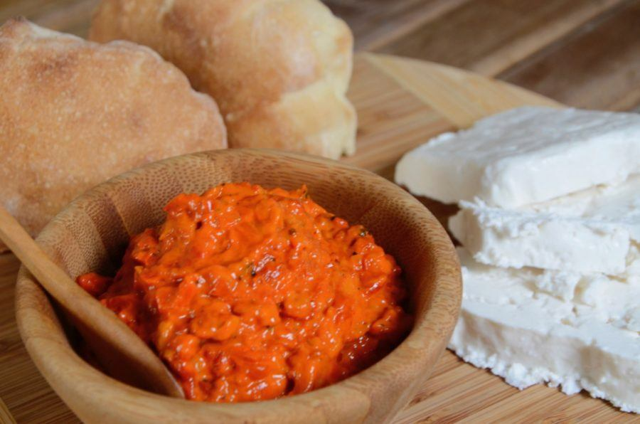 Macedonian traditional food in Macedonia_Ajvar