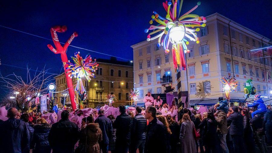 Night_Rijeka Carnival Parade