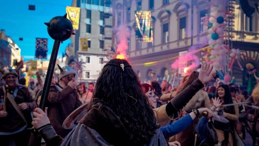 Rijeka Carnival Photos_Fire