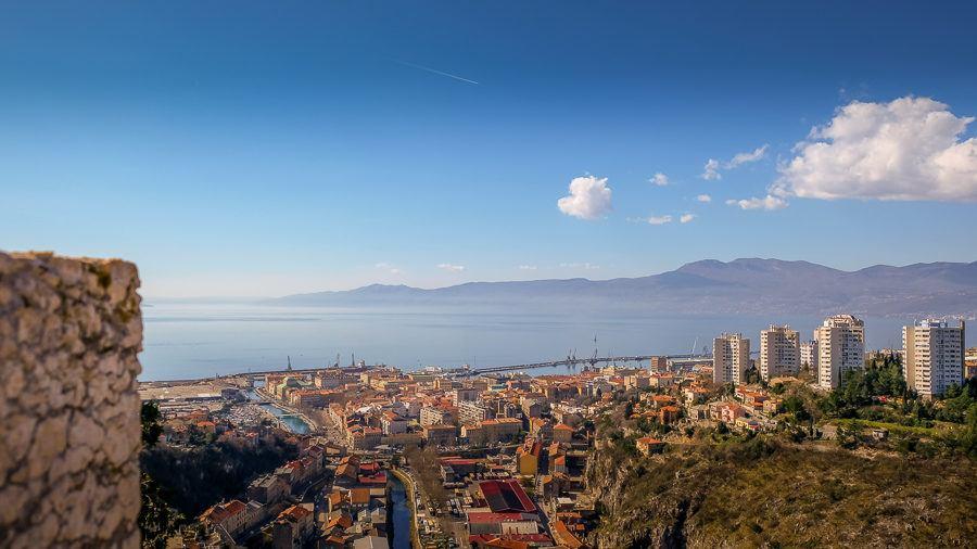 View from Trsat_Rijeka Carnival Weekend