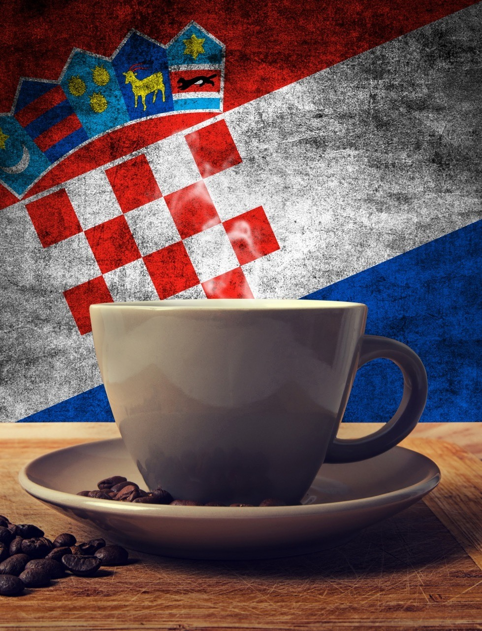 Zagreb Spiza And Coffee - With Flag