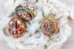 Souvenirs in Romania - Eggs in Romania